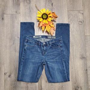 Madewell Skinny Skinny Medium Wash Jeans